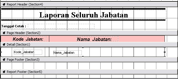 laporan jabatan